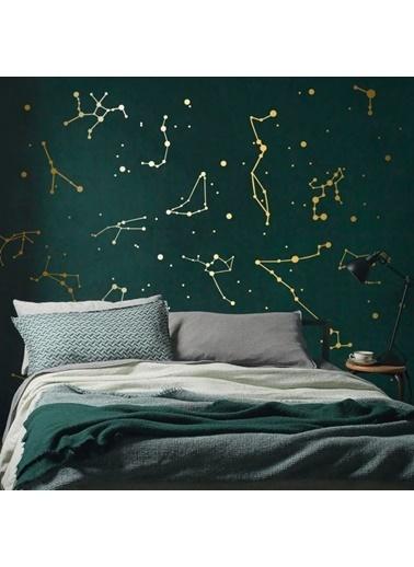 Artikel Yıldız Haritası Ikili Ik Duvar Stickerı Renkli
